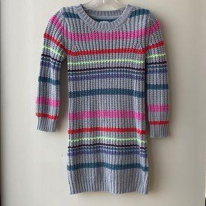 Gymboree colorful sweater dress